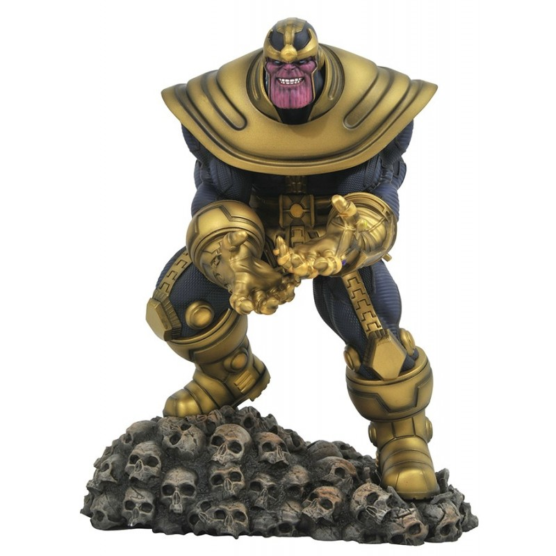 DIAMOND SELECT MARVEL GALLERY THANOS COMIC STATUE FIGURE