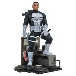 MARVEL GALLERY PUNISHER COMIC STATUE 23CM FIGURE