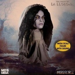 THE CURSE OF LA LLORONA MEGA SCALE WITH SOUND 40 CM ACTION FIGURE MEZCO TOYS