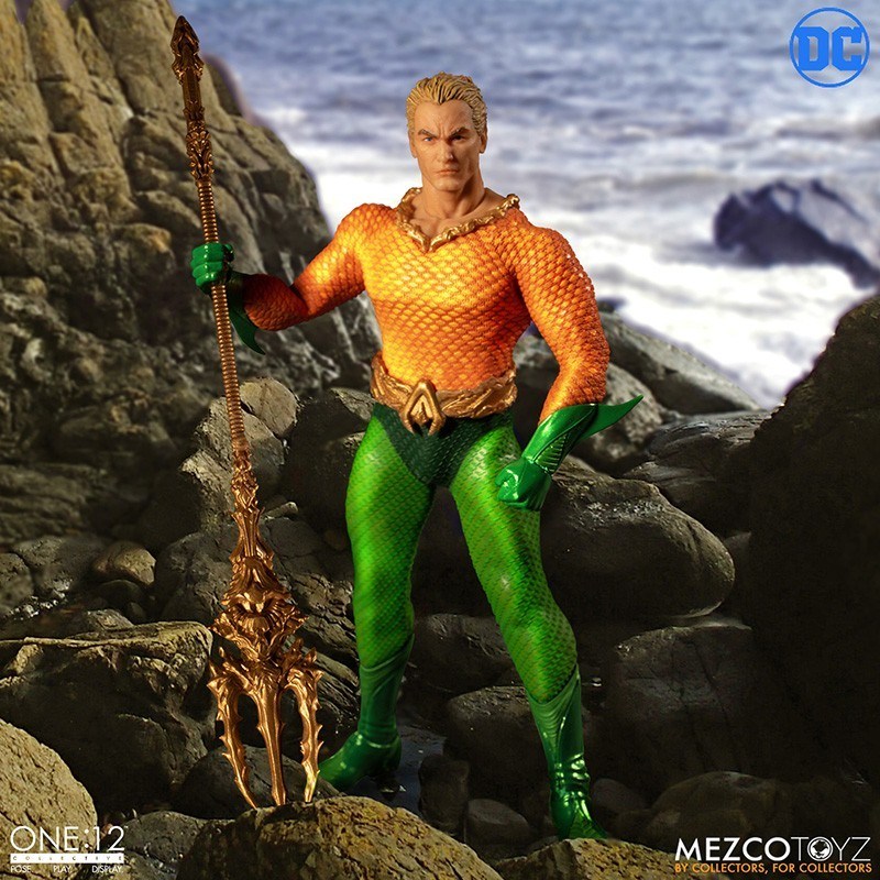 DC COMICS AQUAMAN ONE:12 COLLECTIVE ACTION FIGURE
