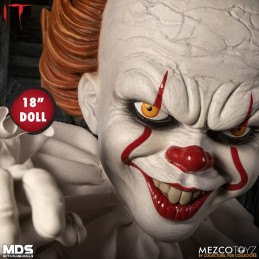 IT 2017 PENNYWISE ROTO PLUSH 45 CM DOLL FIGURE