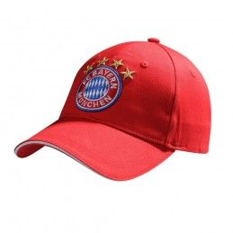 CAPPELLO BASEBALL CAP BAYERN MUNCHEN FC REGOLABILE ROSSO