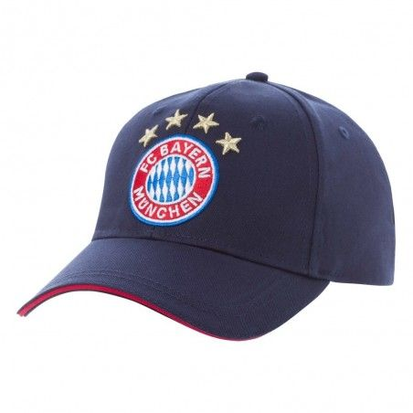 CAPPELLO BASEBALL CAP BAYERN MUNCHEN FC REGOLABILE BLU NAVY