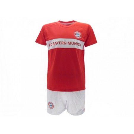SET MAGLIA E PANTALONCINI CALCIO UFFICIALE BAYERN MUNCHEN FC