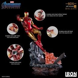 AVENGERS ENDGAME - IRON MAN MARK 85 BDS ART DELUXE SCALE 1/10 29 CM STATUE FIGURE IRON STUDIOS