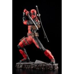 DEADPOOL MAXIMUM FINE ART STATUE 27 CM FIGURE