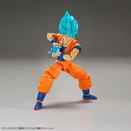 BANDAI DRAGON BALL FIGURE RISE SUPER SAIYAN GOD SS SON GOKU MODEL KIT FIGURE