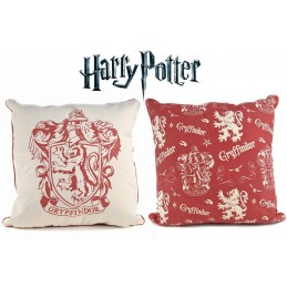 HARRY POTTER GRYFFINDOR CUSHION PILLOW GRIFONDORO CUSCINO 46x46cm