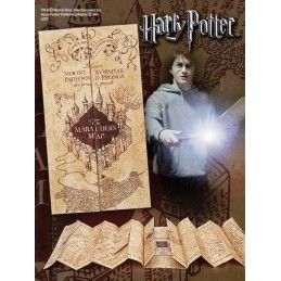 HARRY POTTER MAPPA - THE MARAUDER'S MAP REPLICA NOBLE COLLECTIONS
