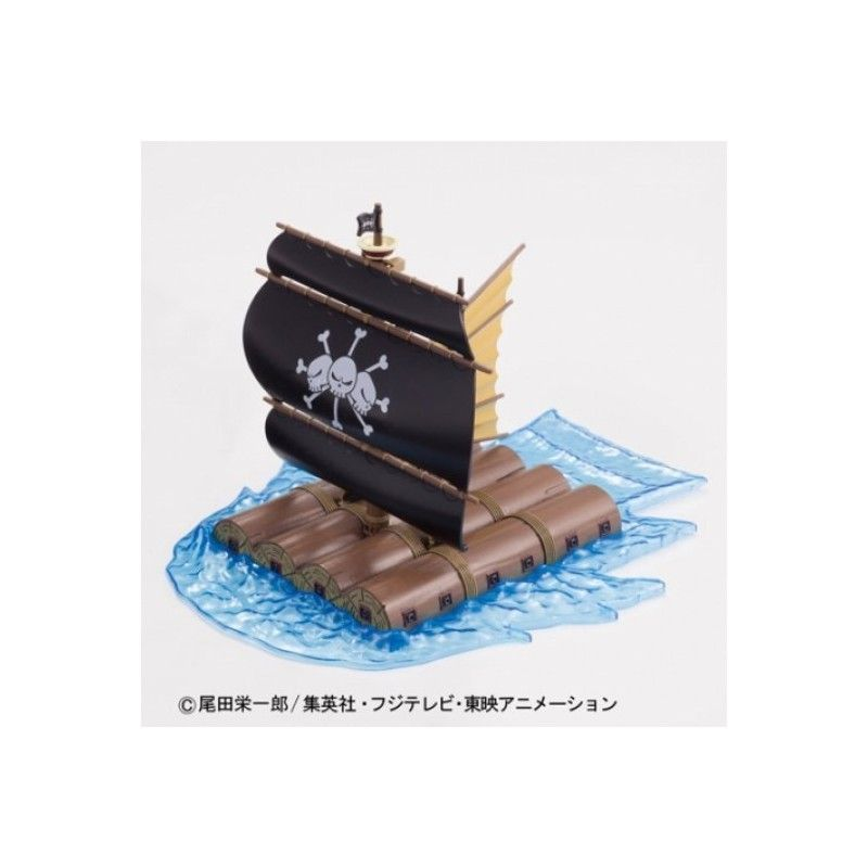 ONE PIECE GRAND SHIP COLLECTION MARSHALL D.TEACH'S MODEL KIT FIGURE BANDAI