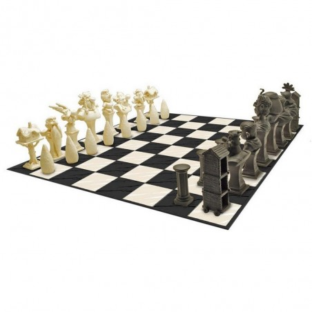 ASTERIX - RESIN CHESS SET SCACCHIERA IN RESINA