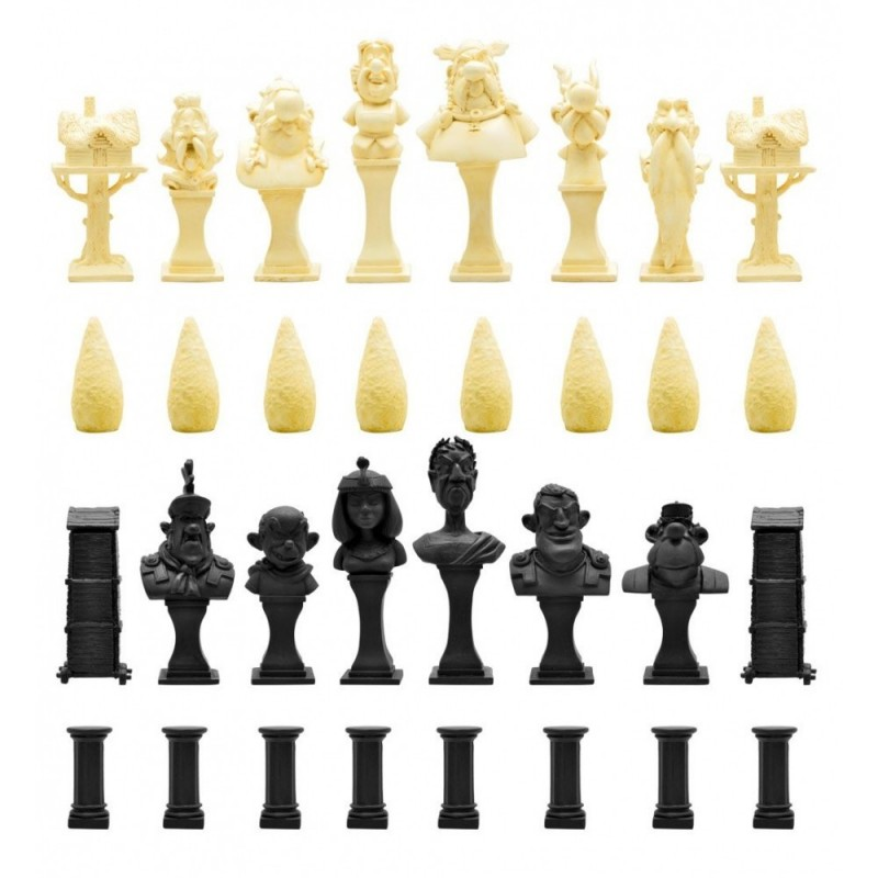 ASTERIX - RESIN CHESS SET SCACCHIERA IN RESINA PLASTOY