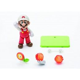 BANDAI SUPER MARIO BROS - FIRE MARIO S.H. FIGUARTS ACTION FIGURE