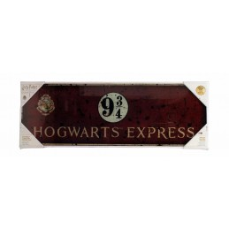 HARRY POTTER HOGWARTS EXPRESS GLASS POSTER IN VETRO 60 X 20 CM
