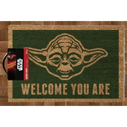 PYRAMID INTERNATIONAL STAR WARS YODA WELCOME YOU ARE DOORMAT ZERBINO 40X60CM