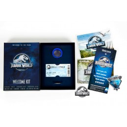 JURASSIC WORLD WELCOME KIT SET DA COLLEZIONE