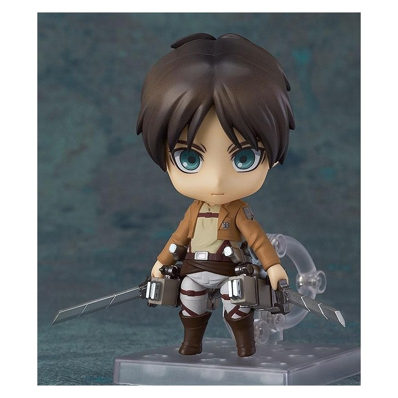ATTACK ON TITAN - EREN YEAGER NENDOROID ACTION FIGURE GOOD SMILE COMPANY