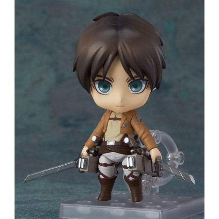 ATTACK ON TITAN - EREN YEAGER NENDOROID ACTION FIGURE