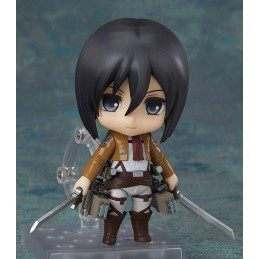 ATTACK ON TITAN - MIKASA ACKERMAN NENDOROID ACTION FIGURE GOOD SMILE COMPANY