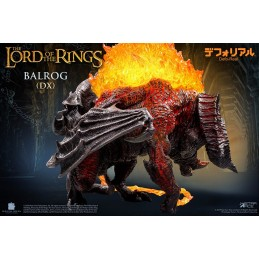 THE LORD OF THE RINGS - BALROG DELUXE DEFO-REAL STATUA FIGURE FIGURE