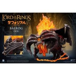 STAR ACE THE LORD OF THE RINGS - BALROG REGULAR DEFO-REAL STATUA FIGURE