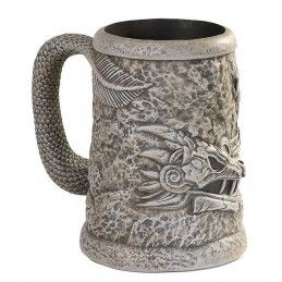 GAME OF THRONES - DRAGONSTON STEIN BOCCALE  IN CERAMICA