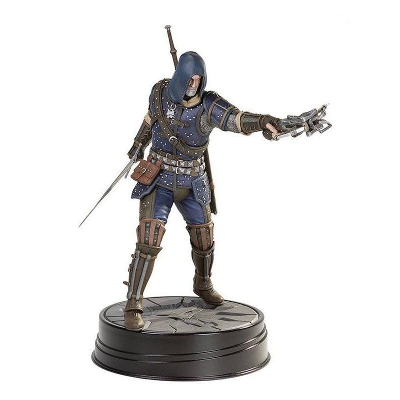 DARK HORSE THE WITCHER 3 WILD HUNT - GERALT GRANDMASTER FELINE PVC STATUE 27 CM FIGURE