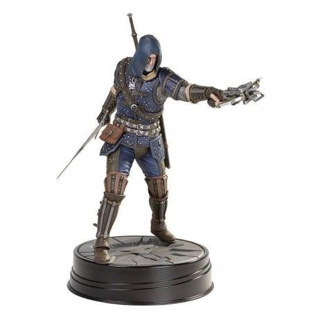 THE WITCHER 3 WILD HUNT - GERALT GRANDMASTER FELINE PVC STATUE 27 CM FIGURE