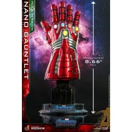 AVENGERS ENDGAME - NANO GAUNTLET (HULK VERSION) GUANTO DELL'INFINITO 22 CM HOT TOYS