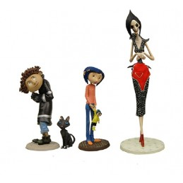 CORALINE BEST OF SET ACTION FIGURE NECA