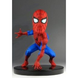MARVEL - CLASSIC SPIDER-MAN BOBBLE HEADKNOCKER FIGURE NECA