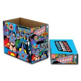 DC COMICS JUSTICE LEAGUE AMERICA COMIC BOOK BOX SCATOLA FUMETTI NECA