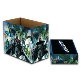 DC COMICS JUSTICE LEAGUE COMIC BOOK BOX SCATOLA FUMETTI NECA