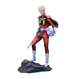 GUNDAM GUY GENERATION - CHAR AZNABLE ART GRAPHICS STATUE 17 CM FIGURE