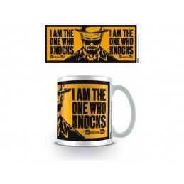 BREAKING BAD I AM THE ONE WHO KNOCKS MUG TAZZA IN CERAMICA