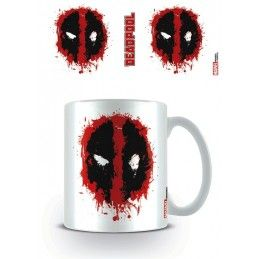 DEADPOOL MASK MUG TAZZA IN CERAMICA