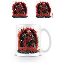PYRAMID INTERNATIONAL DEADPOOL COMICS MUG TAZZA IN CERAMICA
