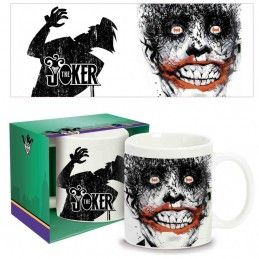 DC COMICS JOKER CERAMIC MUG TAZZA IN CERAMICA