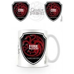 GAME OF THRONES FIRE AND BLOOD TARGARYEN MUG TAZZA IN CERAMICA