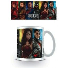 DC MOVIE JUSTICE LEAGUE CERAMIC MUG TAZZA IN CERAMICA