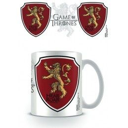 GAME OF THRONES HEAR ME ROAR LANNISTER MUG TAZZA IN CERAMICA