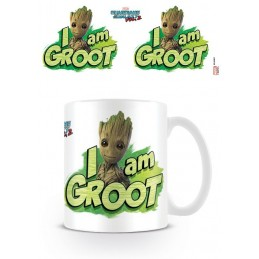 MARVEL GUARDIANS OF THE GALAXY I AM GROOT CERAMIC MUG TAZZA IN CERAMICA
