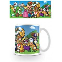 NINTENDO SUPER MARIO GROUP CERAMIC MUG TAZZA IN CERAMICA PYRAMID INTERNATIONAL
