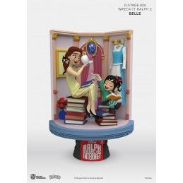 WRECK-IT RALPH 2 SPACCATUTTO D-STAGE 024 BELLE STATUE FIGURE DIORAMA