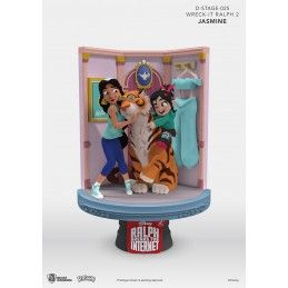 BEAST KINGDOM WRECK-IT RALPH 2 SPACCATUTTO D-STAGE 025 JASMINE STATUE FIGURE DIORAMA