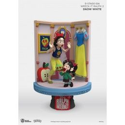 WRECK-IT RALPH 2 SPACCATUTTO D-STAGE 026 SNOW WHITE BIANCANEVE STATUE FIGURE DIORAMA BEAST KINGDOM