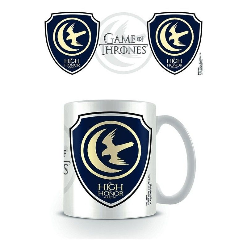 PYRAMID INTERNATIONAL GAME OF THRONES AS HIGH AS HONOR ARRYN MUG TAZZA IN CERAMICA