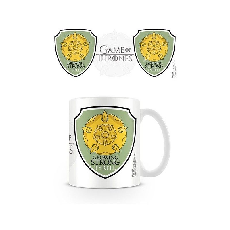 GAME OF THRONES GROWING STRONG TYRELL MUG TAZZA IN CERAMICA