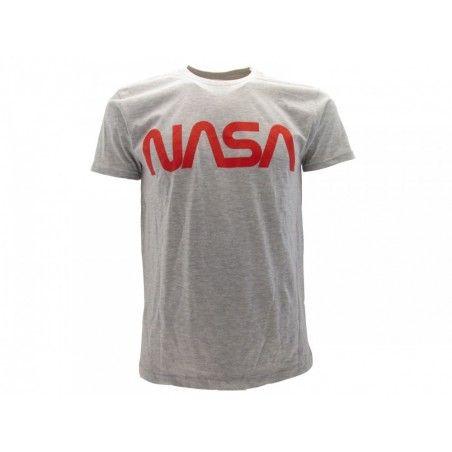 MAGLIA T SHIRT NASA VINTAGE GRIGIA