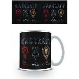 PYRAMID INTERNATIONAL WORLD OF WARCRT HORDE MAGES ALLIANCE MUG TAZZA CERAMICA